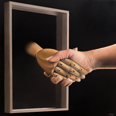 Gratitud|PinturadeSoraya Güell| Compra arte en Flecha.es