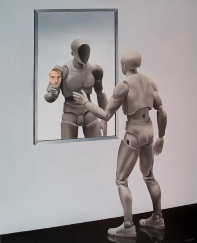 Falsa identidad|PinturadeSoraya Güell| Compra arte en Flecha.es