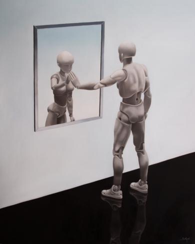 Atrapada|PinturadeSoraya Güell| Compra arte en Flecha.es