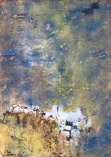 Anochecer|PinturadeEnric Correa| Compra arte en Flecha.es