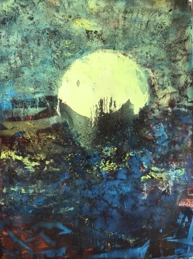 Sunset|PinturadeEnric Correa| Compra arte en Flecha.es