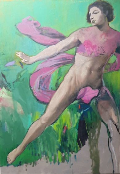Soy lo que somos|PinturadeJuan Mateo Cabrera| Compra arte en Flecha.es
