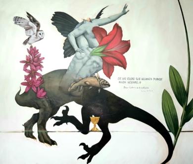 Breve historia de la evolución|PinturadeJuan Mateo Cabrera| Compra arte en Flecha.es