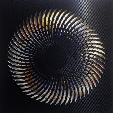 NAUTILUS (Black/Blue)|DigitaldeGeometricarte| Compra arte en Flecha.es