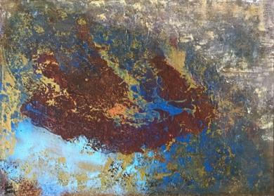 Meteosat|PinturadeEnric Correa| Compra arte en Flecha.es