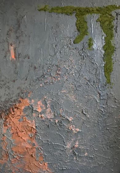MUSGO ROTO|Escultura de pareddeALFREDO MOLERO DOVAL| Compra arte en Flecha.es