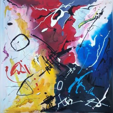 Chopin - Balada para piano n.º 1, en Sol menor op 23|PinturadeValeriano Cortázar| Compra arte en Flecha.es