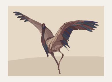 Crane III|DibujodeTaquen| Compra arte en Flecha.es