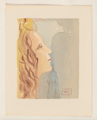 La Divina Comedia. Paraíso canto 8|Obra gráficadeSalvador Dalí| Compra arte en Flecha.es