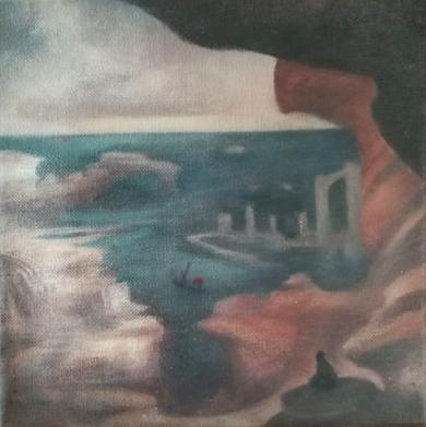 Capricho X|PinturadeVerónica Bustamante Loring| Compra arte en Flecha.es