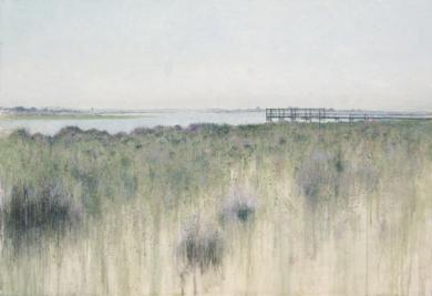 El embarcadero|PinturadeJosé Luis Romero| Compra arte en Flecha.es