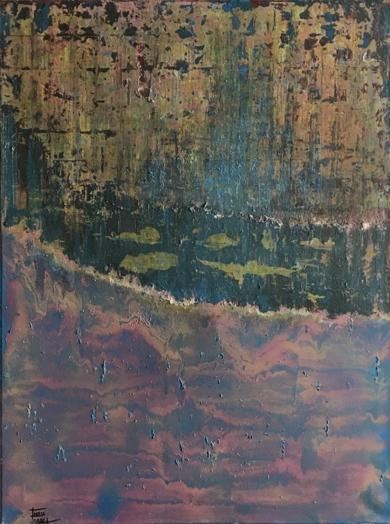 Erupción|PinturadeEnric Correa| Compra arte en Flecha.es