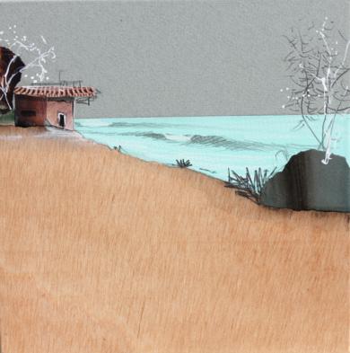 Gris lluvia|CollagedeEduardo Query| Compra arte en Flecha.es
