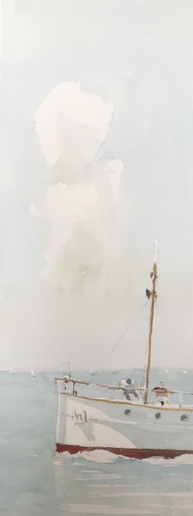 Zarpando|PinturadeIñigo Lizarraga| Compra arte en Flecha.es