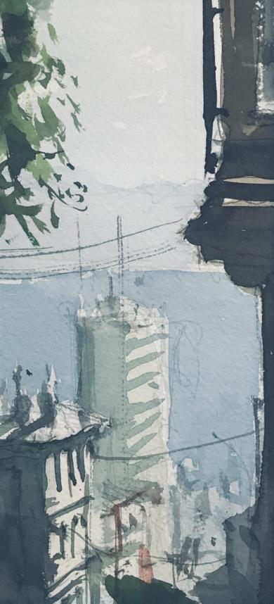 San Francisco|PinturadeIñigo Lizarraga| Compra arte en Flecha.es