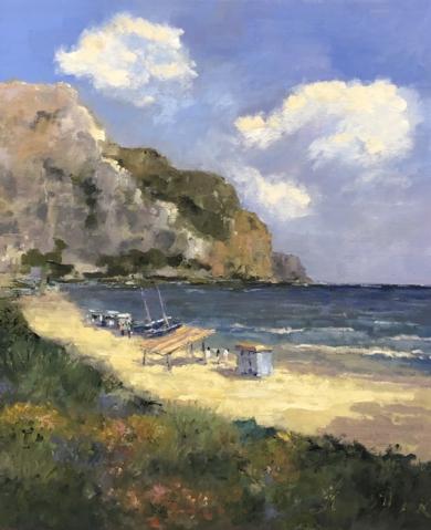Playa|PinturadeJesus| Compra arte en Flecha.es
