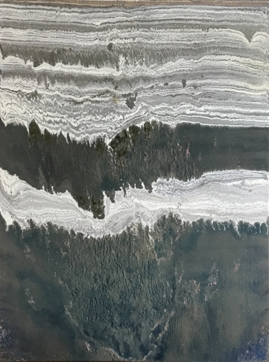 Glaciar|PinturadeEnric Correa| Compra arte en Flecha.es