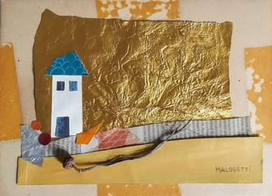 S/T de la Serie Cuarentena|CollagedeANALIA MALOSETTI| Compra arte en Flecha.es