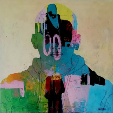 My rap neighbor|PinturadeFrancisco Santos| Compra arte en Flecha.es