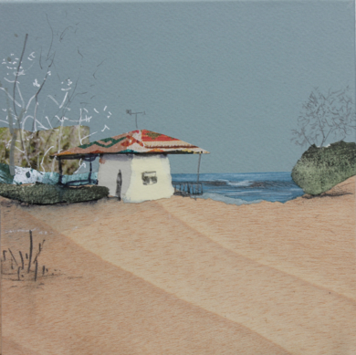 Naturaleza costera|CollagedeEduardo Query| Compra arte en Flecha.es