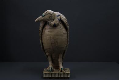 BUITRE|EsculturadeCOVA ORGAZ| Compra arte en Flecha.es