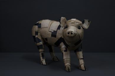 LECHÓN Nº1|EsculturadeCOVA ORGAZ| Compra arte en Flecha.es