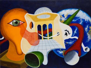 Te estamos observando|PinturadeANDRES ACEVEDO MANSO| Compra arte en Flecha.es