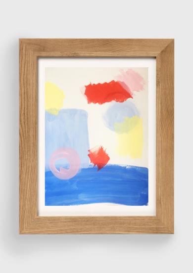 Echo de Menos El Mar|PinturadeVioleta Maya McGuire| Compra arte en Flecha.es