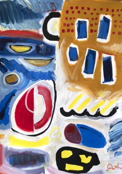 abstracción 2019|PinturadeMaciej Cieśla| Compra arte en Flecha.es