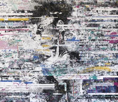 BAHIANA - INTERFERENCIAS|PinturadeAna Dévora| Compra arte en Flecha.es