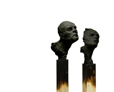 Silencio.|EsculturadeÁlvaro de Matías| Compra arte en Flecha.es
