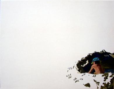 El hoyo|PinturadeJESÚS MANUEL MORENO| Compra arte en Flecha.es