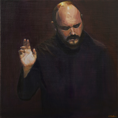 Bendición|PinturadeIgnacio Mateos| Compra arte en Flecha.es