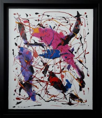 Kosmic Blues|PinturadeValeriano Cortázar| Compra arte en Flecha.es