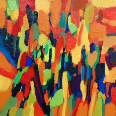 Cortejo|PinturadeIsabel Martin| Compra arte en Flecha.es