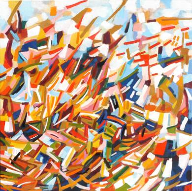 De Prisas|PinturadeIsabel Martin| Compra arte en Flecha.es