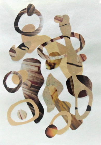 Mapografia caramenlo #2|CollagedeFabiana Zapata| Compra arte en Flecha.es