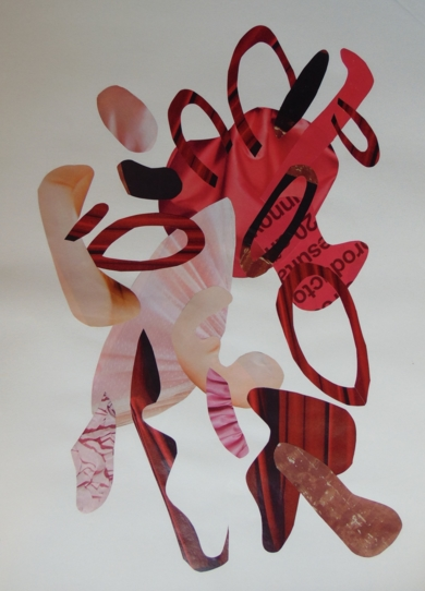 Mapografia vinotinto|CollagedeFabiana Zapata| Compra arte en Flecha.es