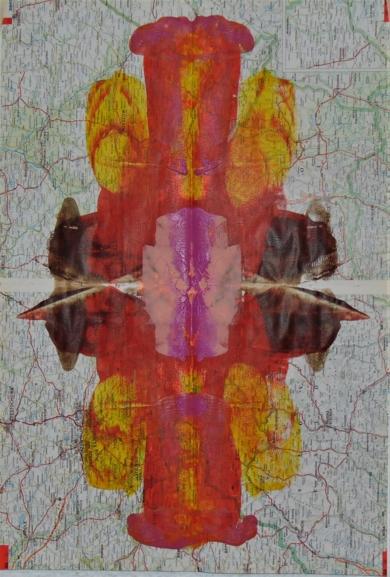 Impronta #5 (Arde Australia)|PinturadeFabiana Zapata| Compra arte en Flecha.es