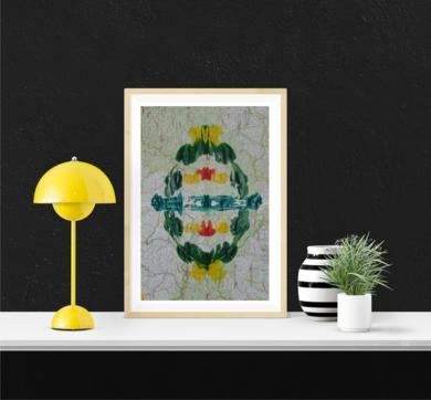 Impronta #7 (Deforestación)|PinturadeFabiana Zapata| Compra arte en Flecha.es