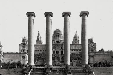 BARCELONA - PALACIO NACIONAL DE MONTJUICH|FotografíadeADOLFO ZERKOWITZ| Compra arte en Flecha.es