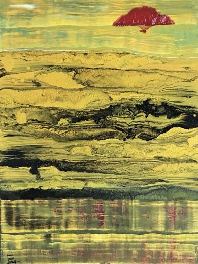 Estampa japonesa|PinturadeEnric Correa| Compra arte en Flecha.es