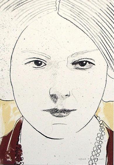 Retrato III|DibujodeEnrique González| Compra arte en Flecha.es