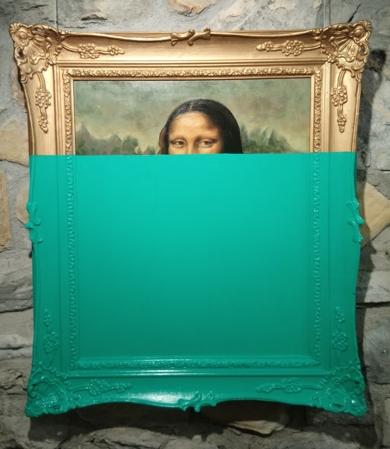 La mona verde|PinturadeJorge perez| Compra arte en Flecha.es