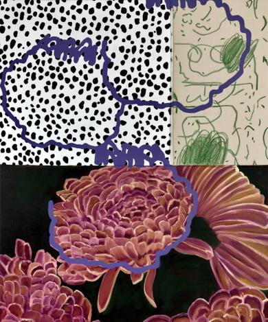 Floral Arrangement n. 2|PinturadeNadia Jaber| Compra arte en Flecha.es