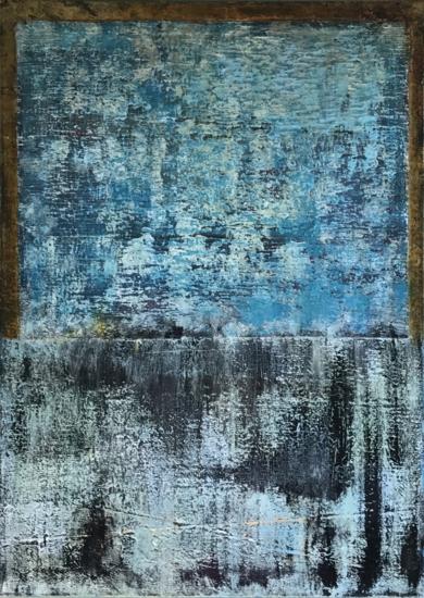 Neroazzurro|PinturadeEnric Correa| Compra arte en Flecha.es