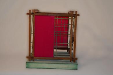 Serie las redes: Cubo 2|EsculturadeGilles Courbière| Compra arte en Flecha.es