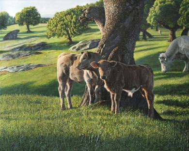 Amanece la primavera|PinturadeJavier Ramos Julián| Compra arte en Flecha.es