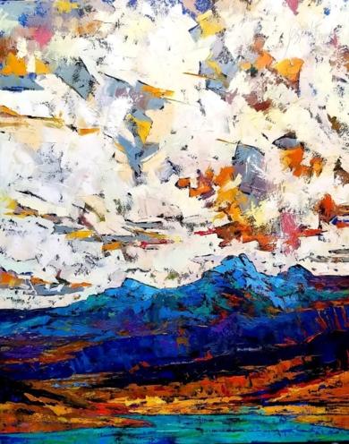Paisaje Nº 18|PinturadeGossediletto| Compra arte en Flecha.es