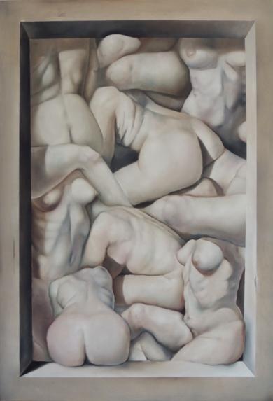 La Corporeidad.|PinturadeVíctor Bayonas| Compra arte en Flecha.es